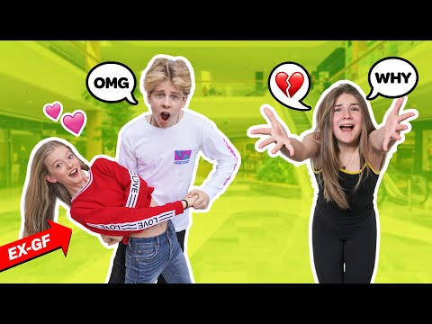 JEALOUS CRUSH MEETS My Ex GIRLFRIEND For The First Time! **EPIC REACTION** 😲💔|Lev Cameron