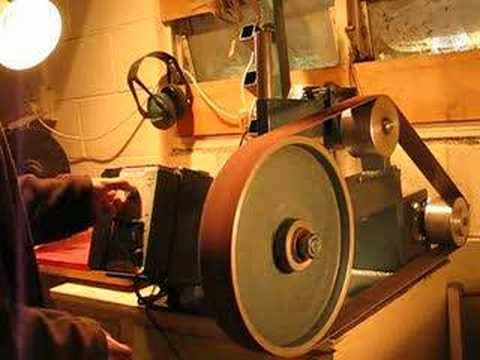 Knife Grinder with Variable Speed motor