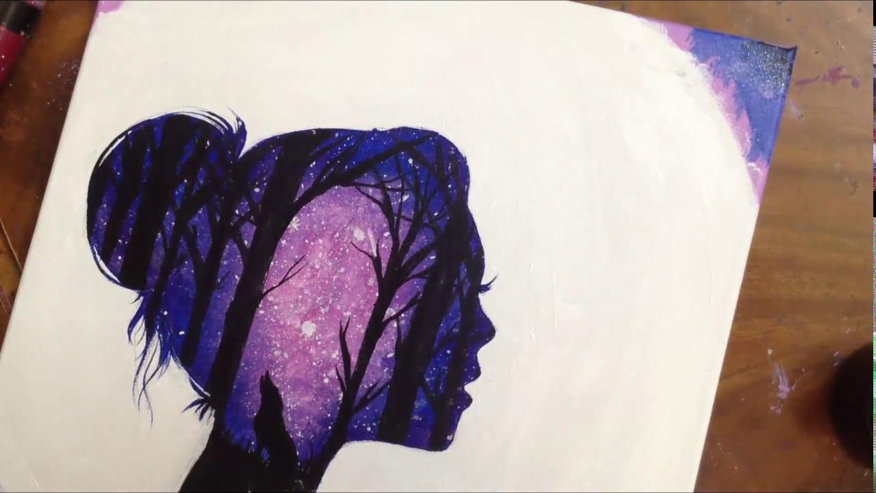 drawing a galaxy by abrar chan