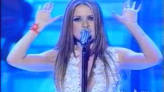 Veruska - Un angelo legato a un palo - San Remo 2004