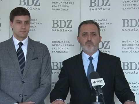 Pogledajte konferenciju za medije BDZ Sandžaka
