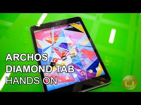Archos Diamond Tab - hochwertiges 199 Euro Tablet im Hands On