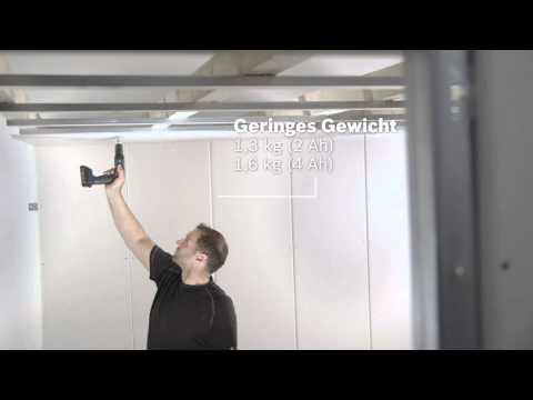 Bosch clic go Akkutrockenbohrschrauber GSR 18 V-EC TE