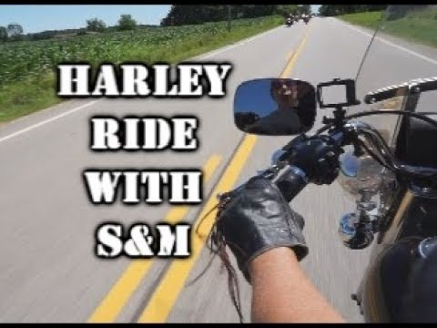 Harley Ride with S & M