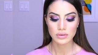 Post no Blog: http://camilacoelho.com/?p=28216 Vaidosas, O vídeo de hoje é com mais uma maquiagem bapho! Dessa vez fiz um esfumado colorido, usando a paleta ...
