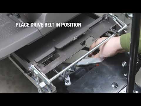 Садовый райдер бензиновый HUSQVARNA R 316TX AWD - видео №6