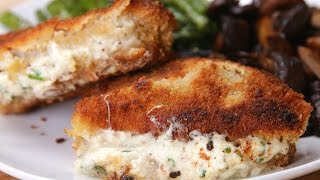 Garlic Herb-Stuffed Pork Chops by Tasty