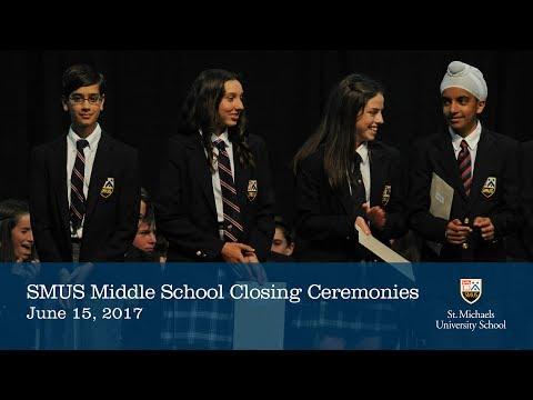 Middle School Closing Ceremonies 2017