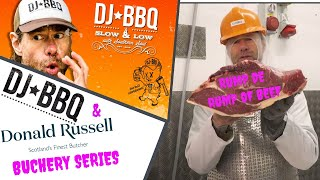 DJ BBQ Talks Prime Cuts of Rump and Loin Beef with Butcher Donald Russell by DJ BBQ