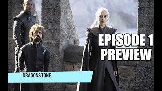 """Game of Thrones Season 7  Episode 1 Preview Episode #61: """"Dragonstone"""" (July 16)Jon (Kit Harington) organizes the defense..."""
