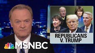 Video 2 Times In 2 Days Republicans Vote Against President Donald Trump | The Last Word | MSNBC MP3, 3GP, MP4, WEBM, AVI, FLV Maret 2019