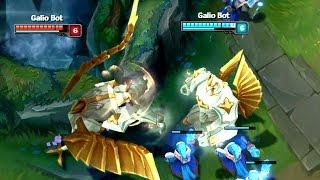 GALIO BOT BROKEN?! He can ult enemies!