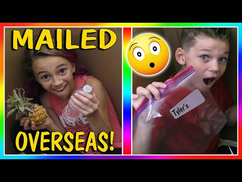 WE MAILED THE KIDS OVERSEAS! | We Are The Davises