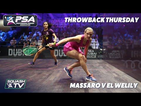 Squash: #ThrowbackThursday - Massaro v El Welily - World Series Finals 2015-16 - Extended Highlights