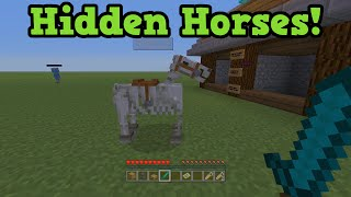 Minecraft Xbox + PS3 - ZOMBIE HORSE & SKELETON HORSE in TU19
