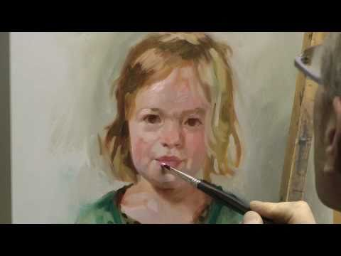 Oil portrait painting tips free painting lessons for Portrait painting tutorial