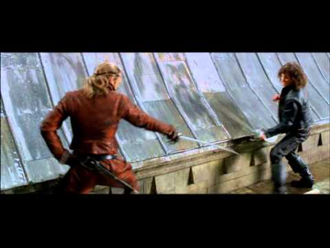 The Three Musketeers 2011 Extended Scene - Rochefort & d'Artagnan's Duel