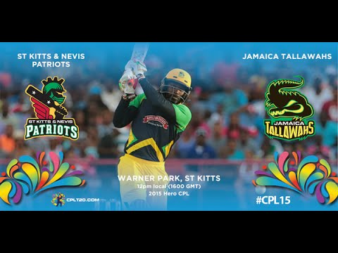 Guyana v St Kitts and Nevis, CPL, 2015 - Extended Highlights