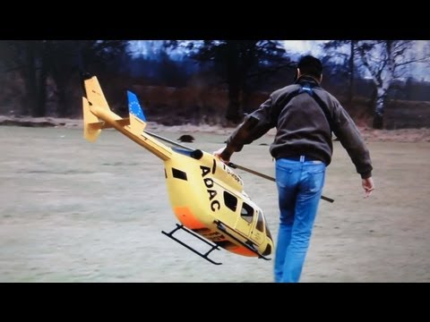 Best big scale: Helicopter ADAC Bergrettung Heli SFOR Wildcat Airwolf Testflug