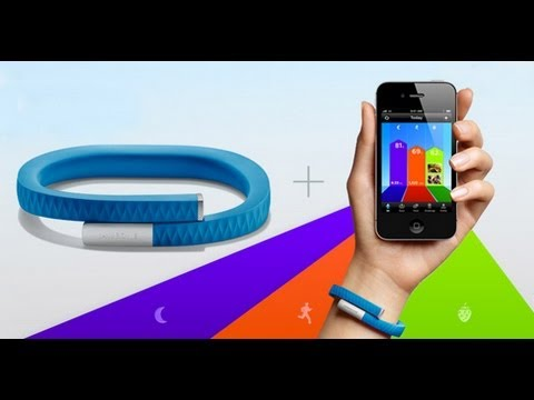 how to use the jawbone up app