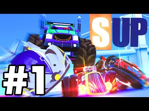 I LOVE THIS GAME..!! | *NEW* SUP Multiplayer Racing Game IOS / Android!  | SUP Part 1