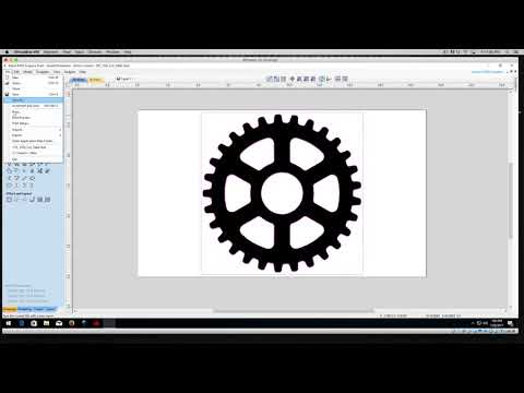 RDworks Tutorial 6 Bitmap Trace Vectors For PL1220 CNC Laser Cutters