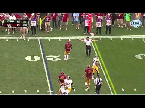 Jeremiah George vs Iowa 2013 video.