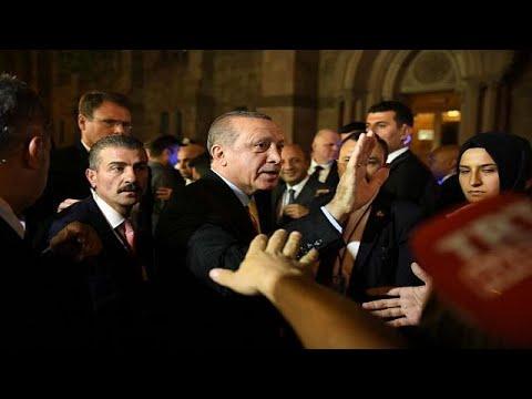 ΗΠΑ: Νέο επεισόδιο με τη φρουρά του Ερντογάν