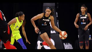 A'ja Wilson Posts Team-High 19 Points In Aces' Win by WNBA