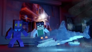 Minecraft | Jaws Movie 2 - SNEAKING INTO TOP SECRET BASE?! (Minecraft Roleplay) #6