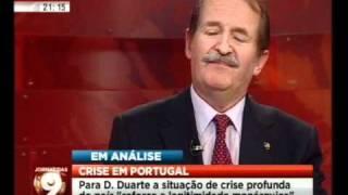 Mário Crespo entrevista SAR o Duque de Bragança (2/3)