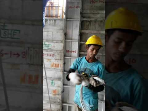 Mivan Formwork - How to place pipe sleeves in such a construction system