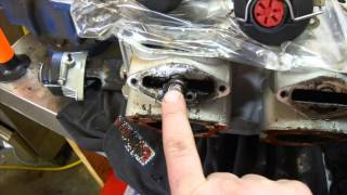 8. How to Rebuild a Seadoo Engine Part 4, Cylinder and Heads