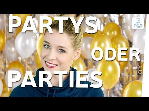 Partys oder Parties | Einfache Deutsch-Tipps