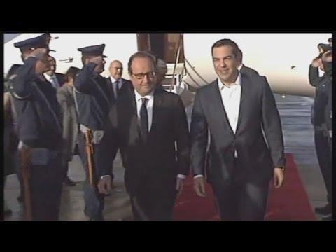 Στην Αθήνα ο Γάλλος πρόεδρος Φρανσουά Ολάντ
