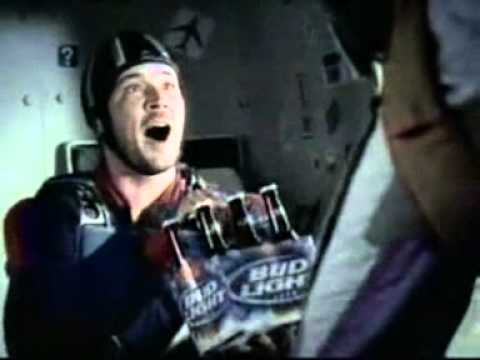 Bud Light Airplane Commercial