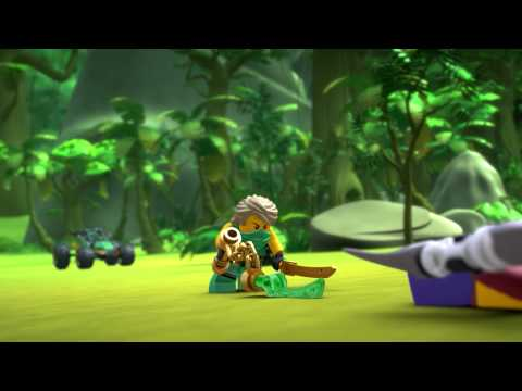 Vidéo LEGO Ninjago 70755 : Le buggy de la jungle