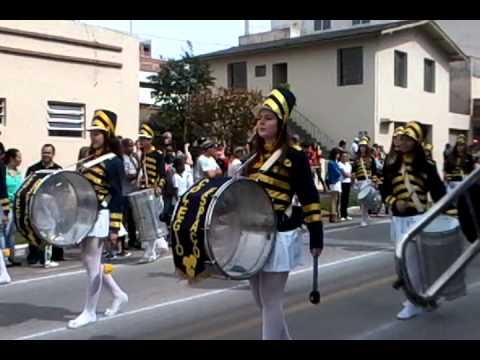 Desfile colegio espaco de braco do norte