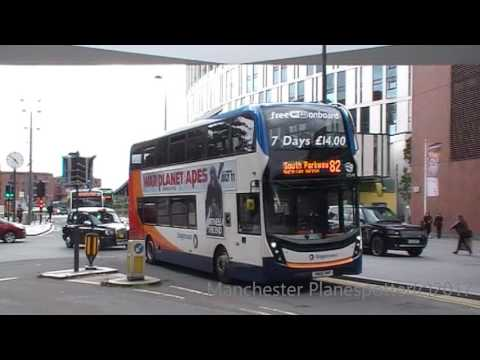 Stagecoach Buses At Liverpool One Bus Station On The 04/07/2017