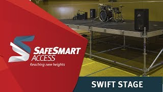 SwiftStage Staging System | Modular Stage