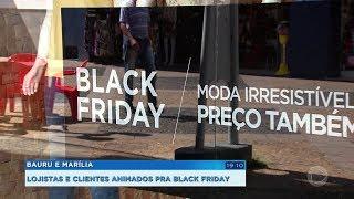 Lojistas e clientes animados pra a Black Friday 2019