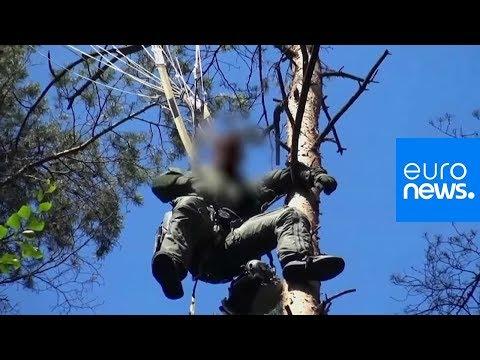 Καρέ – καρέ η διάσωση του πιλότου του Eurofighter (Video)