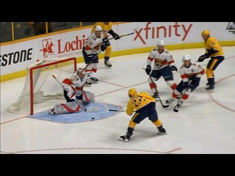 Video: Predators score on first shot thanks to Fiala's finish