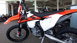 7. 2018 KTM 500 EXC-F Walk Around