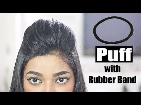 Front Puff for Thin Hair in 1 minute  Quick & Easy Hairstyles with Puff