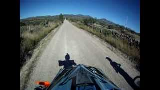 6. 2008 ktm 300xc vs 2005 crf 450r drag race and trail