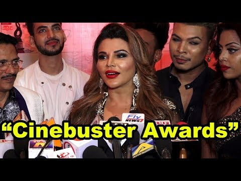 "Rakhi Sawant At The Unveiling Of The ""Cinebuster Awards"" 2018"