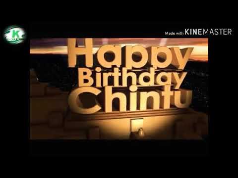 Funny birthday wishes - 3D HAPPY BIRTHDAY CHINTU WISH YOU 1222019
