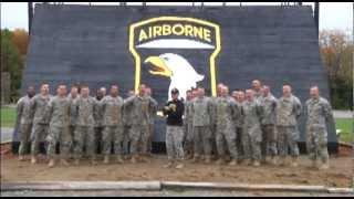 Fresh Military News Clip - Army 101st Airborne Division Against Navy Spirit Video 2012