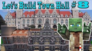Minecraft Let's Build: Town Hall #8